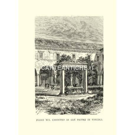 Pozzo nel Chiostro di San Pietro in Vincoli.