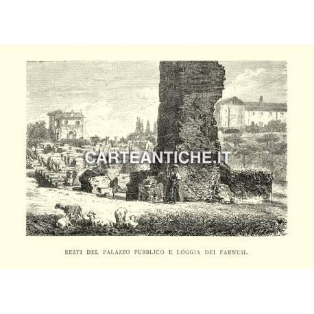 Resti del Palazzo pubblico e Loggia dei Farnesi