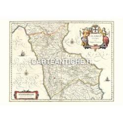 Calabria, carta antica 02
