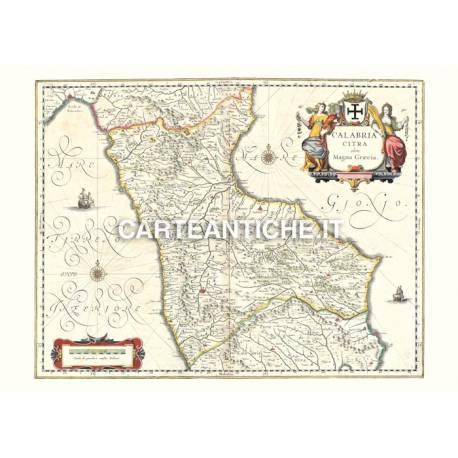 Calabria, carta antica 02.