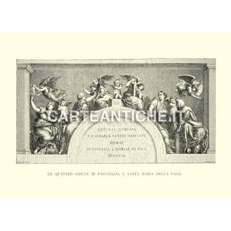 Le quattro sibille di Raffaello a Santa Maria della Pace