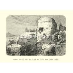 Torre antica del Palatino in vista del Gran Circo