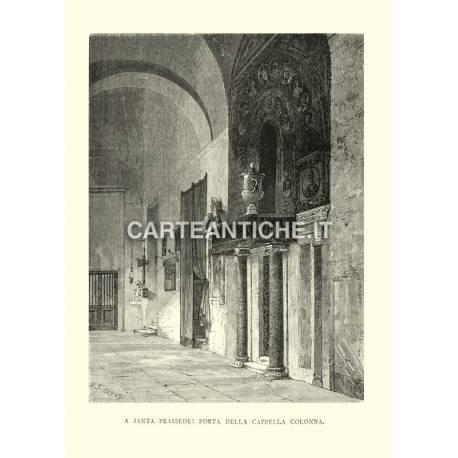 Santa Prassede: Porta della Cappella Colonna