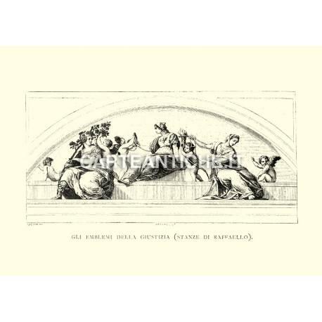 Gli emblemi della Giustizia (stanze di Raffaello)