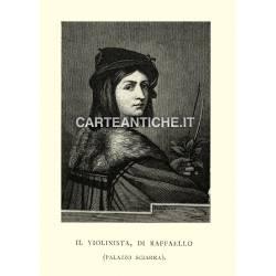 Ritratti: Il Violinista di Raffaello.