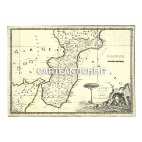 Calabria, carta antica 03.