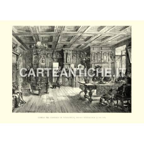 Camera nel castello di Wulflingen, presso Winterthur