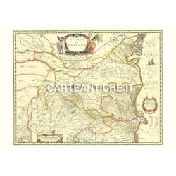 Emilia-Romagna, carta antica 01.