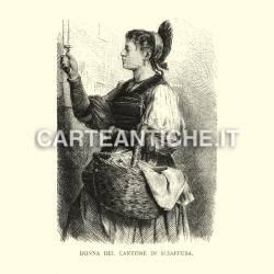 Donna del Cantone di Sciaffusa