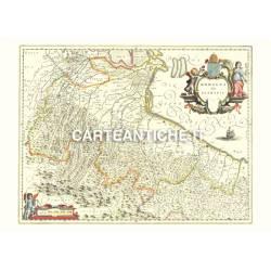 Emilia-Romagna, carta antica 02.