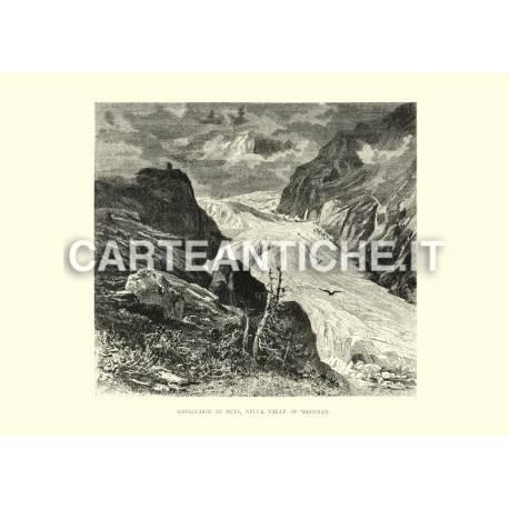 Ghiacciaio di Hufi nella valle di Maderan