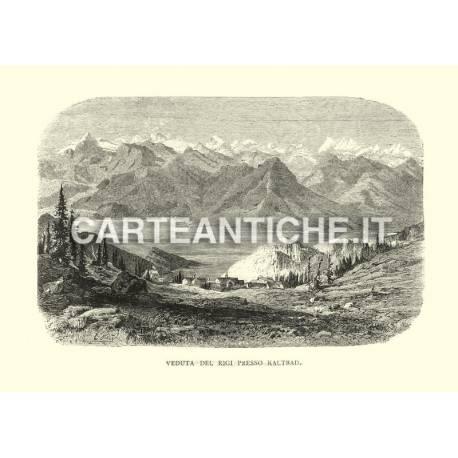 Veduta del Rigi presso Kaltbad