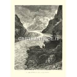 Il mar di Ghiaccio del monte Bianco