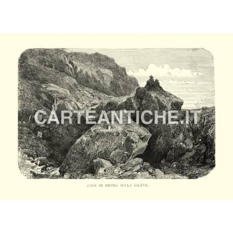 Cave di pietra sulla Saleve