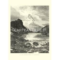Lago di Riffelhorn e Matterhorn