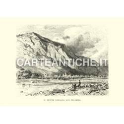 Il monte Calanda col Felsberg
