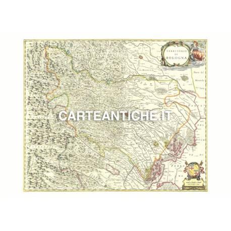 Emilia-Romagna, carta antica 03.
