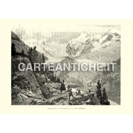 Ghiacciaio di Morteratsch e pizzo Bernina