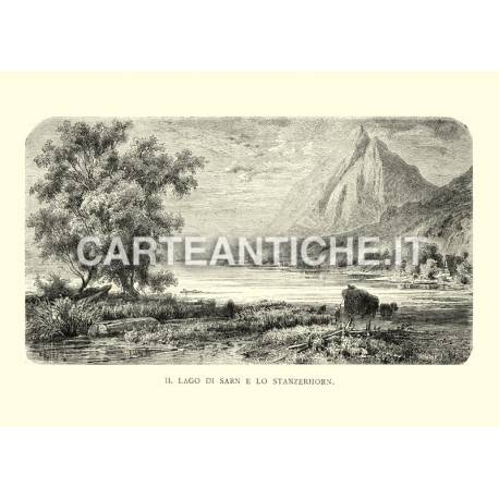 Lago di Sarn e Stanzerhorn