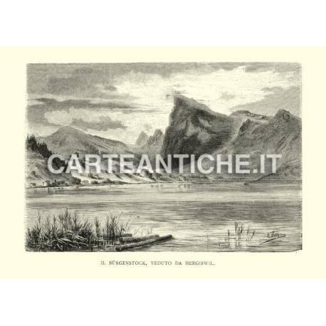 Il Burgenstock veduto da Hergiswil