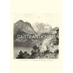 Engelhoerner, Wetterhorn col ghiacciaio di Rosenlaui