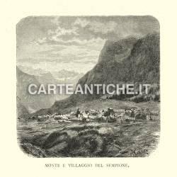 Monte e villaggio del Sempione
