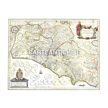 Lazio, carta antica 02.
