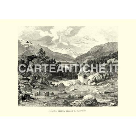 Cascina alpina, presso San Maurizio