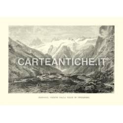 Spannort, veduto dalla Valle di Engelberg.