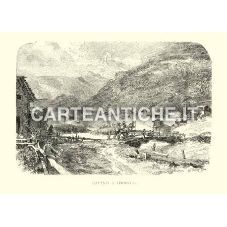 Davanti a Zermatt