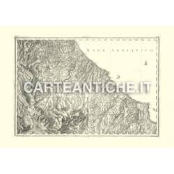 Regno di Napoli, Abruzzo Citra: Chieti (1808)