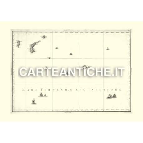Zannoni: Isole Pontine (1792)