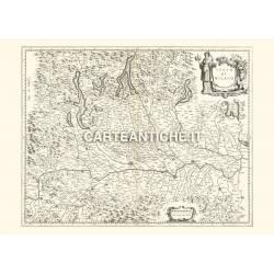 Lombardia, carta antica 01.