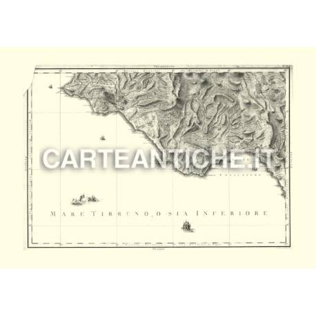 Principato Citra verso il Golfo di Policastro (1788)
