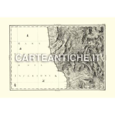 Calabria Citeriore: Cosenza e parte d'Ultra II (1789)