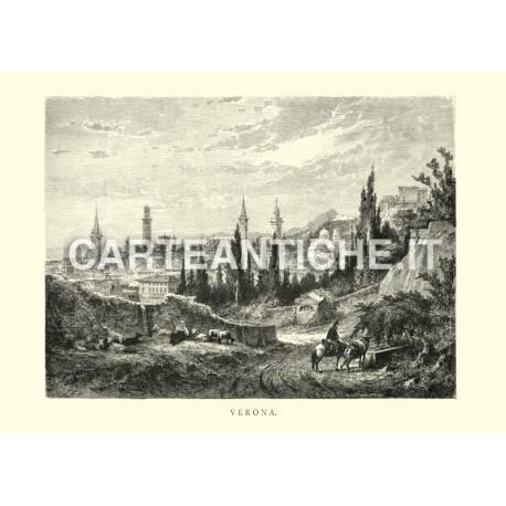 Veduta antica di Verona