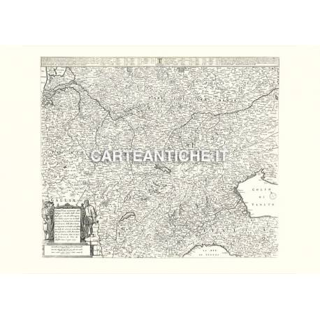 Piemonte, carta antica 01.