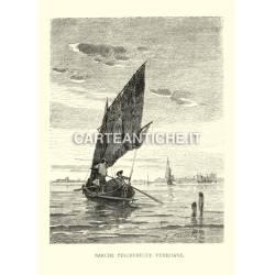 Barche pescherecce Veneziane