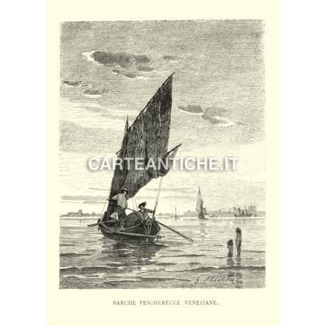 Barche pescherecce Veneziane.