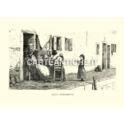 Veduta antica Veneto: sulle fondamenta