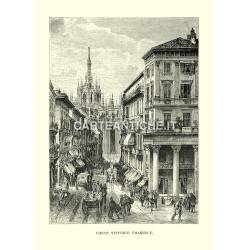 Milano: Corso Vittorio Emanuele
