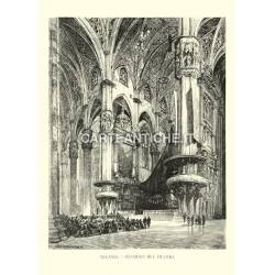 Interno del Duomo di Milano.