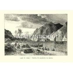 Lago di Como - Veduta di Malgrate da Lecco