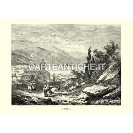 Veduta antica di Como