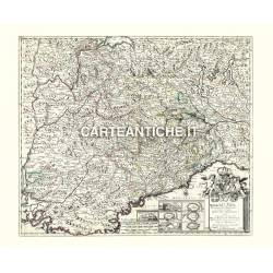 Piemonte, carta antica 05