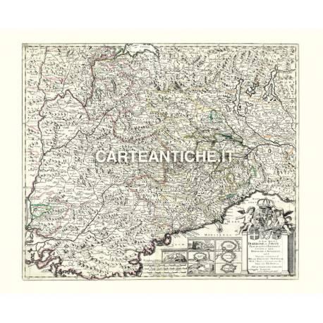 Piemonte, carta antica 05.