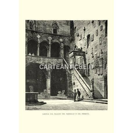Cortile del Palazzo del Bargello o del podestà