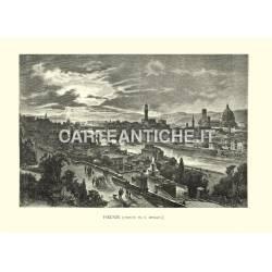 Veduta di Firenze (da S. Miniato)