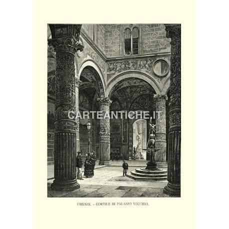 Firenze. Cortile di Palazzo Vecchio.