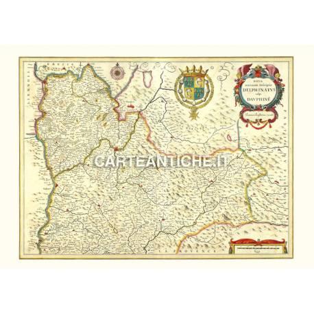 Piemonte, carta antica 08.